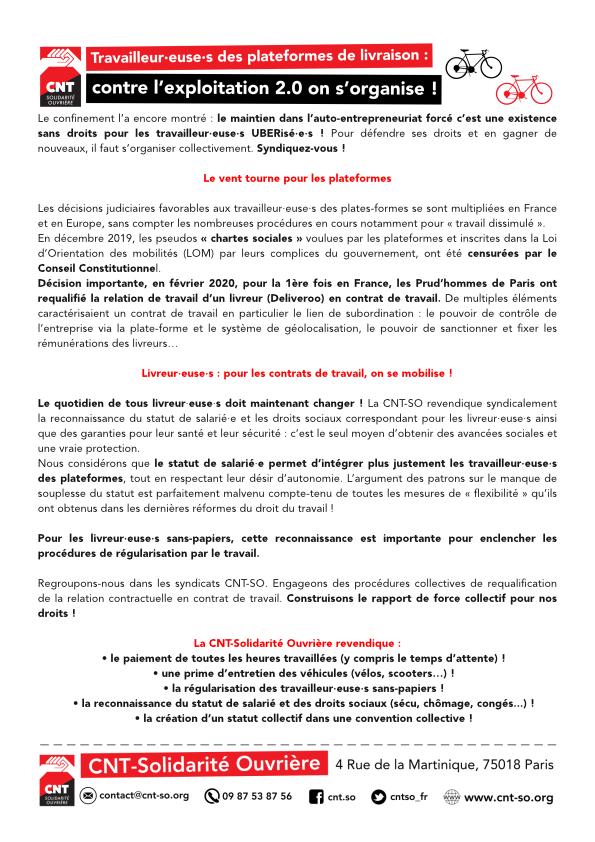 Le tract au format pdf